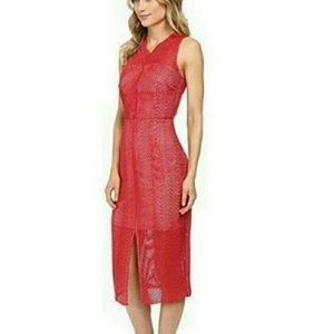EUC Keepsake Think Twice Lace Dress Size M